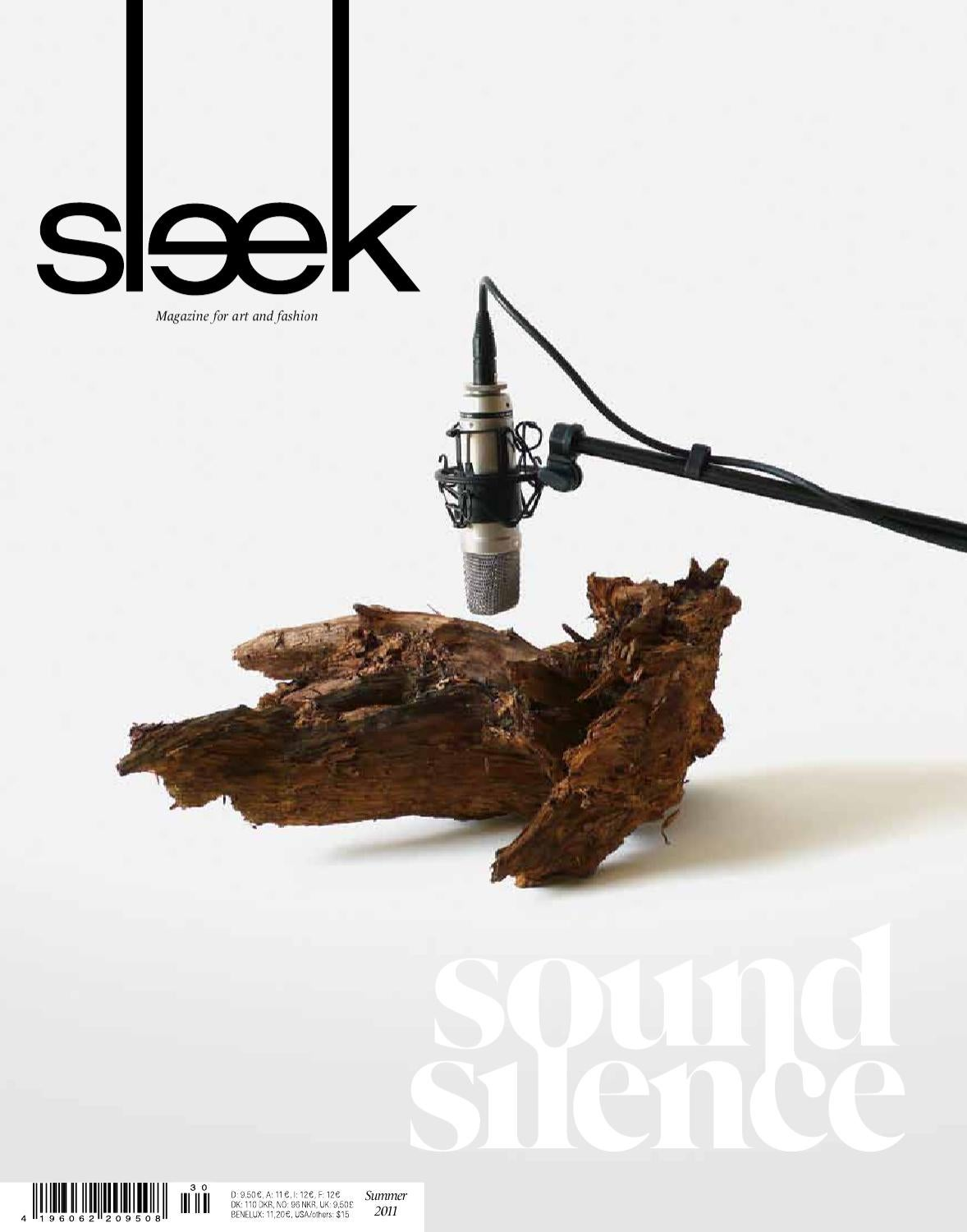 nice einfache dekoration und mobel interview mit sascha mandel #3: SLEEK 30 SOUND | SILENCE by Sleek Magazine, The Visual Contemporary - issuu
