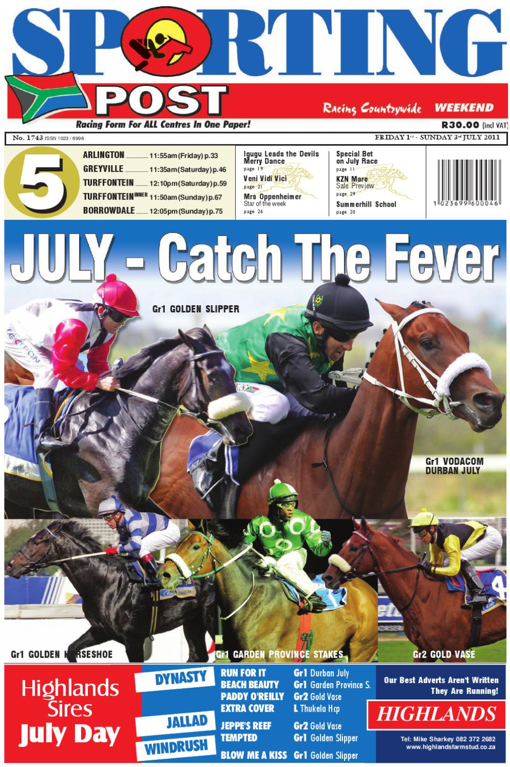 1-3 July #1743 by Sporting Post - issuu