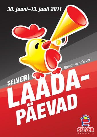 5b6f329f364 Selver Laadapäevad kataloog by Selver - issuu