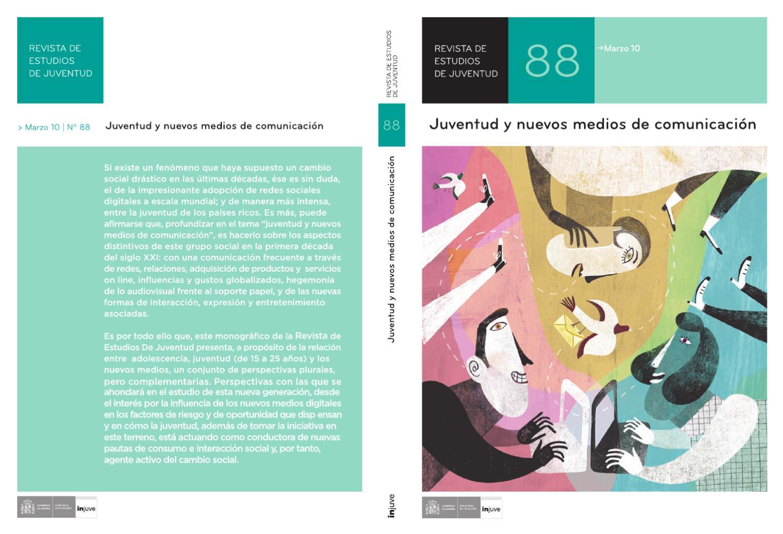 ab6116976b Revista de Estudios de Juventud Nº 88. Juventud y nuevos medios de  comunicación by Instituto de la Juventud de España - issuu