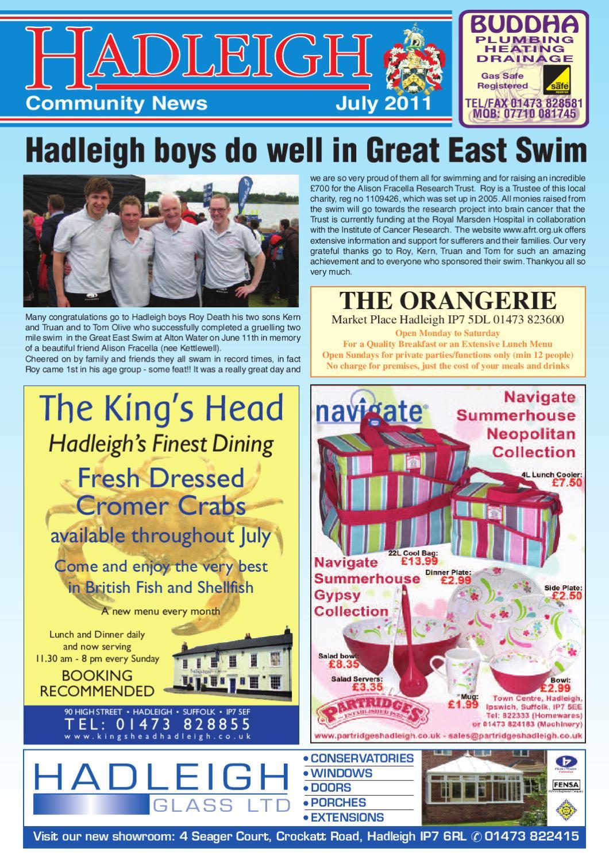 893c834896 Hadleigh Community News, July 2011 by Keith Avis Printers - issuu