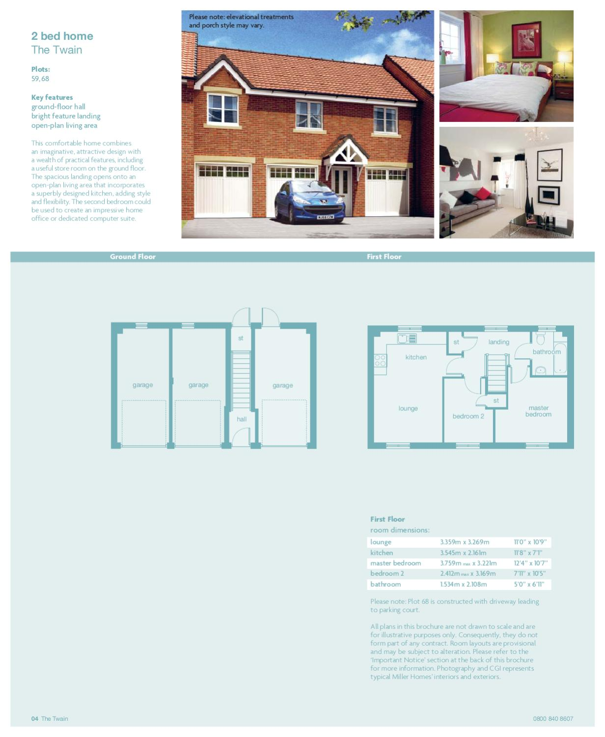 page_8 miller homes calder view by newhomesforsale co uk issuu,Miller Homes Floor Plans