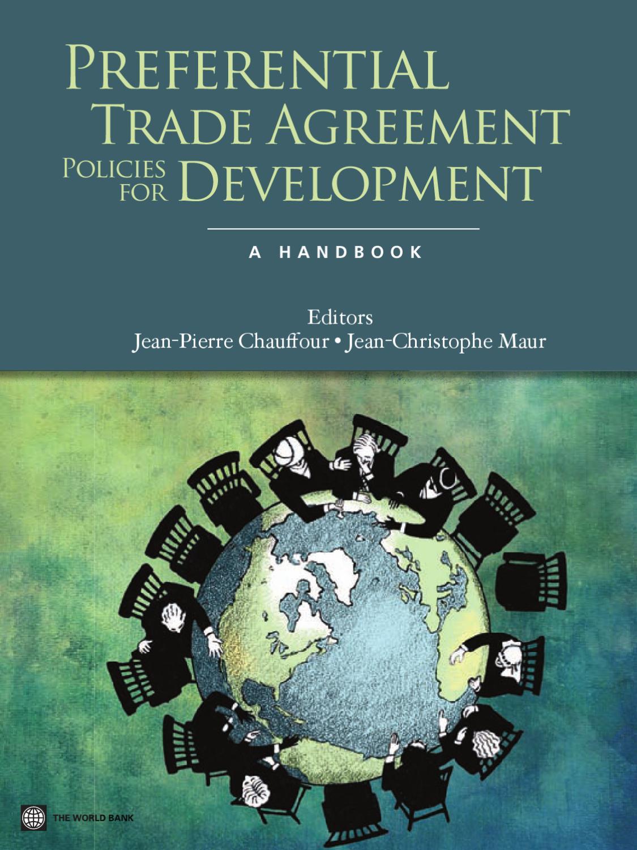 Preferential Trade Agreement Policies For Development A Handbook
