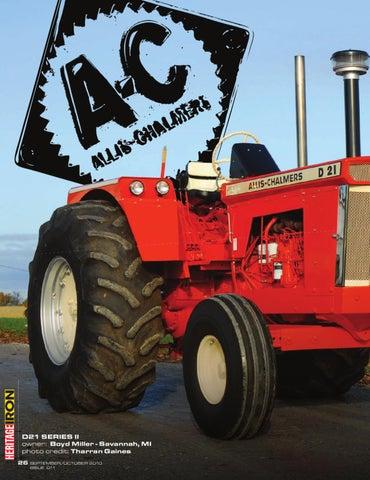 AC D21 by Heritage Iron Magazine - issuu