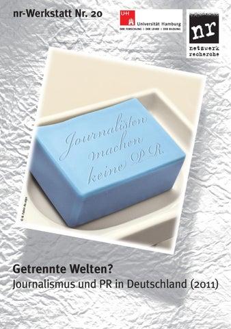 20 Getrennte Welten – Journalismus und PR in Deutschland (nr ...