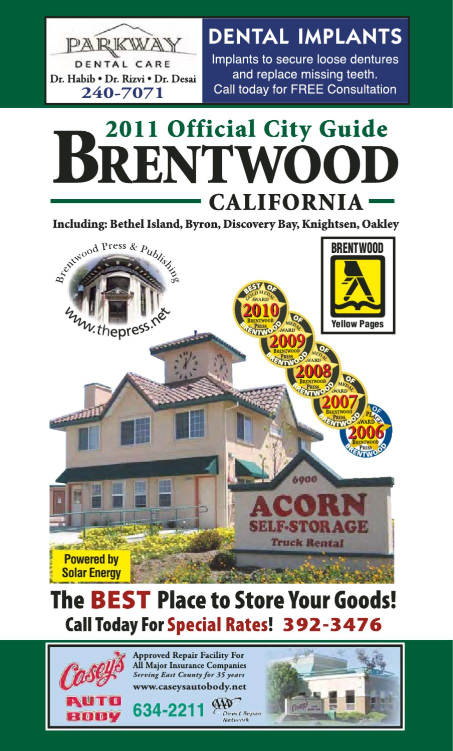 81bcaef4c9 Brentwood Official City Guide   Business Directory 2011-2012 by Brentwood  Press   Publishing - issuu