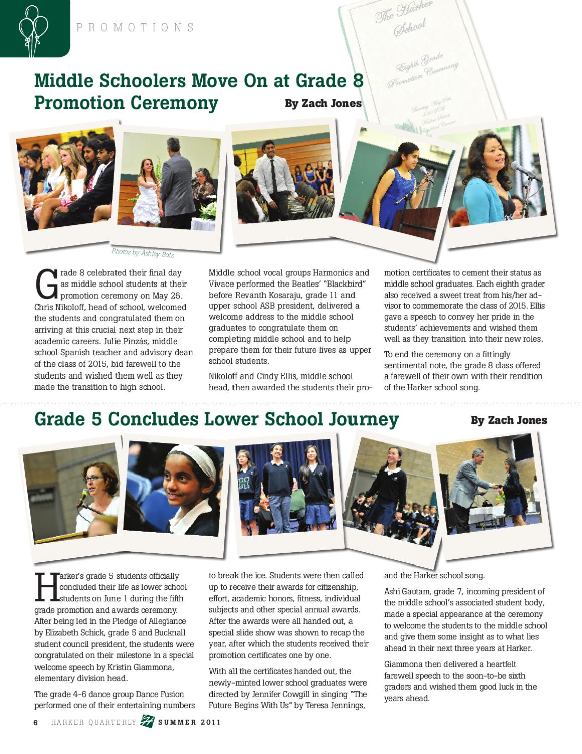 The Harker Quarterly, Summer 2011 by The Harker School - issuu