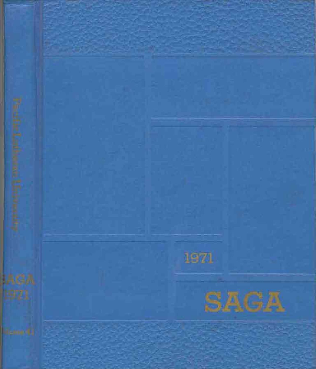 Saga 1971 by Pacific Lutheran University Archives - issuu