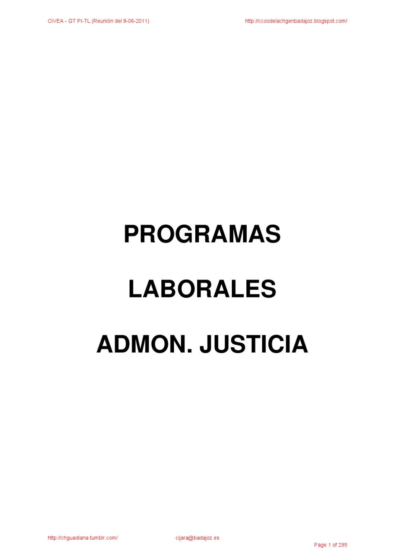 Temario Laborales Pi-tl Ministerios y Ooaa by Antonio Torrado - issuu