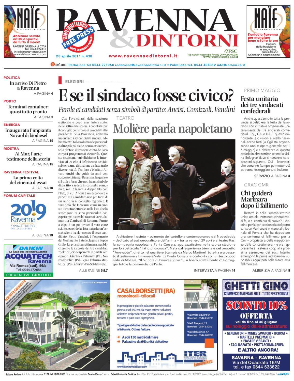 Ravenna   Dintorni 438 - 28 04 2011 by Reclam Edizioni e Comunicazione -  issuu 6aff45ecc42