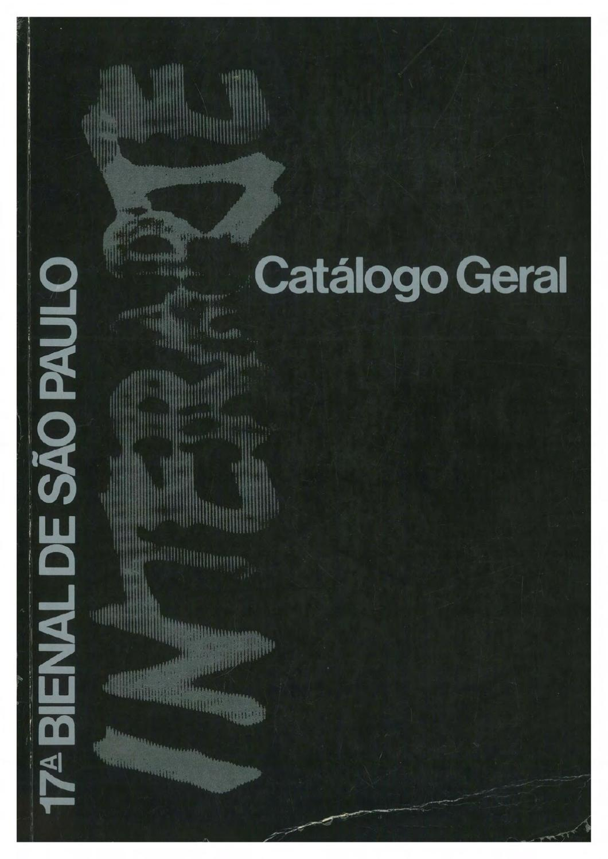 17ª Bienal de São Paulo (1983) - Catálogo by Bienal São Paulo - issuu 473c3d9fa3