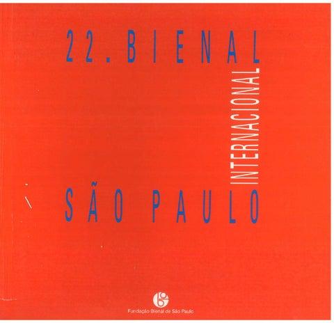 4b2d78ce014c0 22ª Bienal de São Paulo (1994) - Internacional by Bienal São Paulo ...