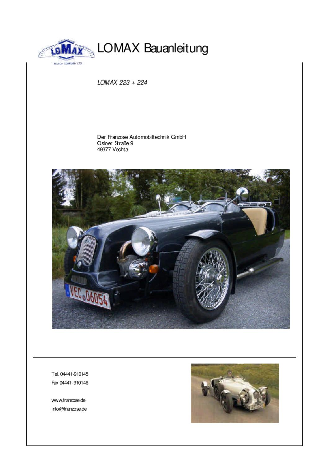 Lomax Bauanleitung by epsom green - issuu