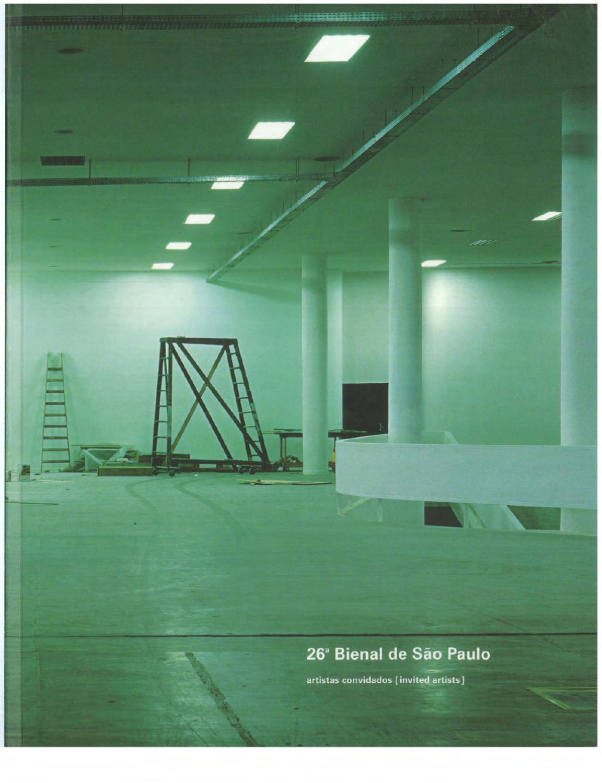 932d613284 26ª Bienal de São Paulo (2004) - Artistas Convidados by Bienal São Paulo -  issuu