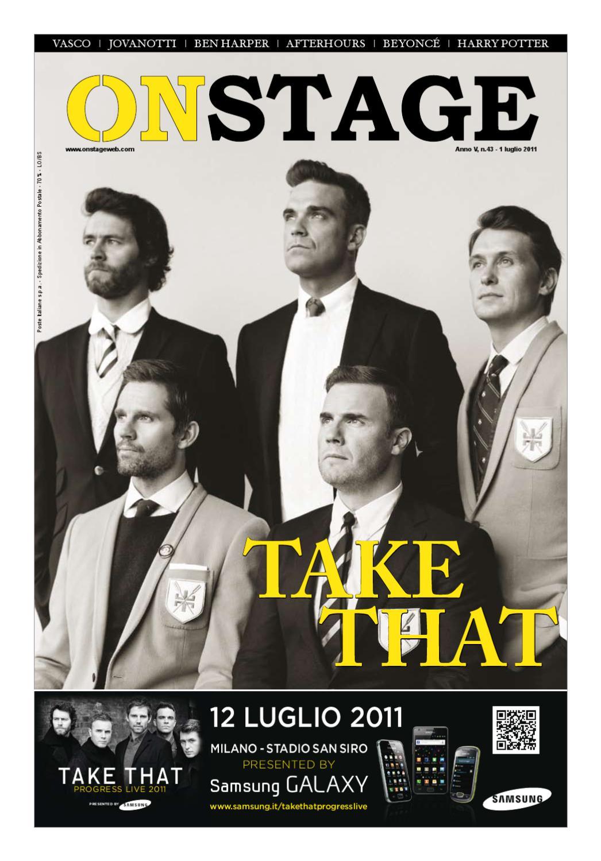 Onstage Magazine luglio 2011 by Areaconcerti srl issuu
