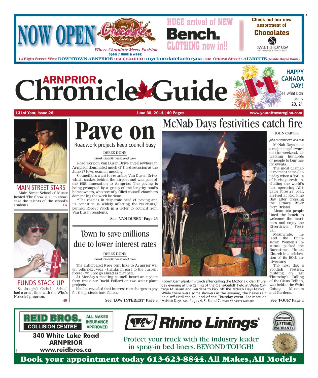 Arnprior Chronicle Guide By Metroland East Curren 8117 Stainless Steel Strap Menamp039s Business Watch Issuu