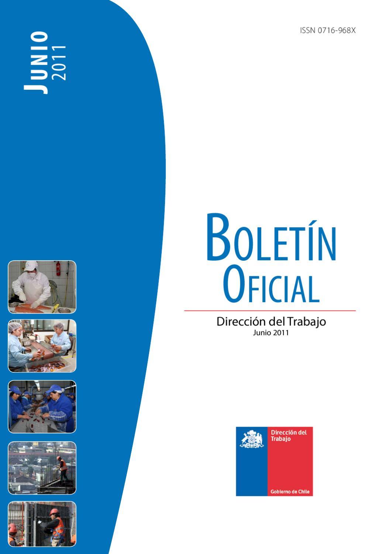 Boletín Oficial Junio 2011 by Direccion del Trabajo - issuu