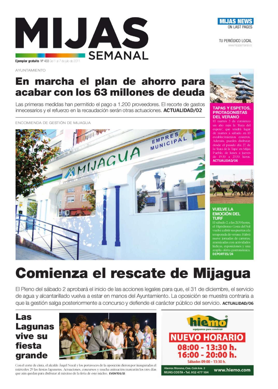 Mijas Semanal Nº 433 Del 1 Al 7 Julio By Mijas Semanal Issuu