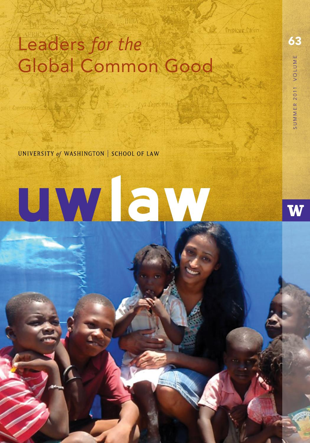 UWLAW Alumni Magazine - Summer 2011 by UW School of Law - issuu