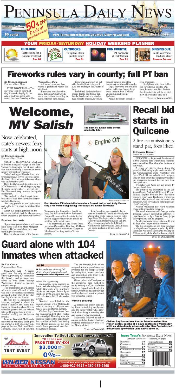 22e0f84cee pdn07012011j by Peninsula Daily News & Sequim Gazette - issuu