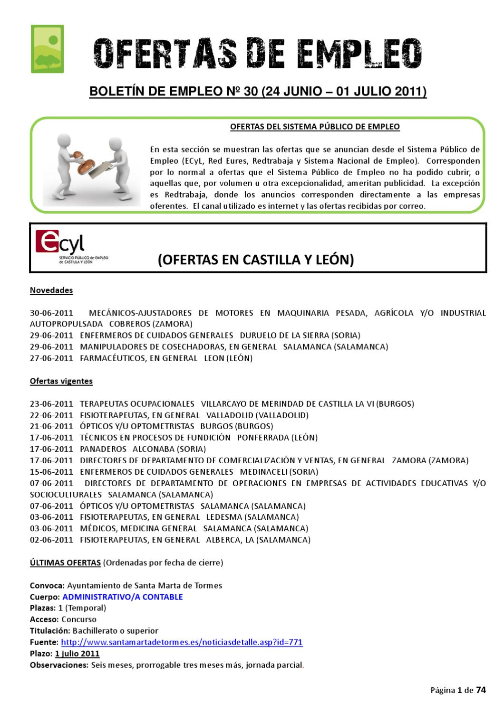 Boletin de empleo nº 30 by AEDL MIC - issuu