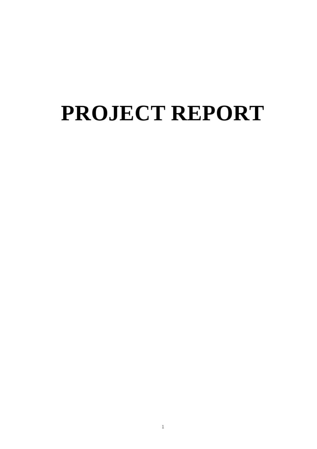 Ratio Analysis Project Report by Sanjay Gupta - issuu