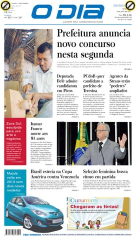 6b8418ff0ad Jornal by Jornal O Dia - issuu