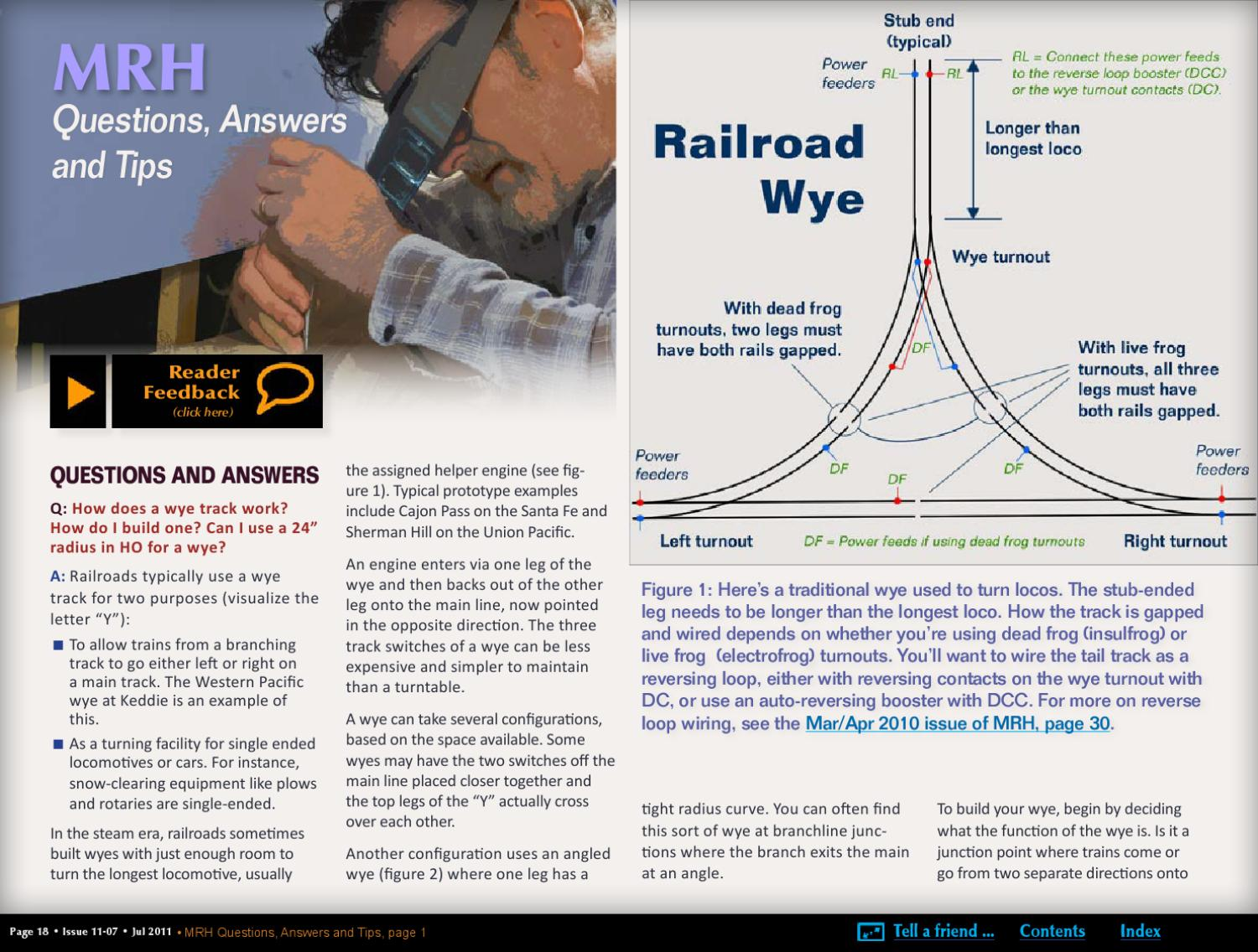Mrh Jul 2011 Issue 17 By Model Railroad Hobbyist Magazine Issuu Turnout Switch Dcc Wiring Track
