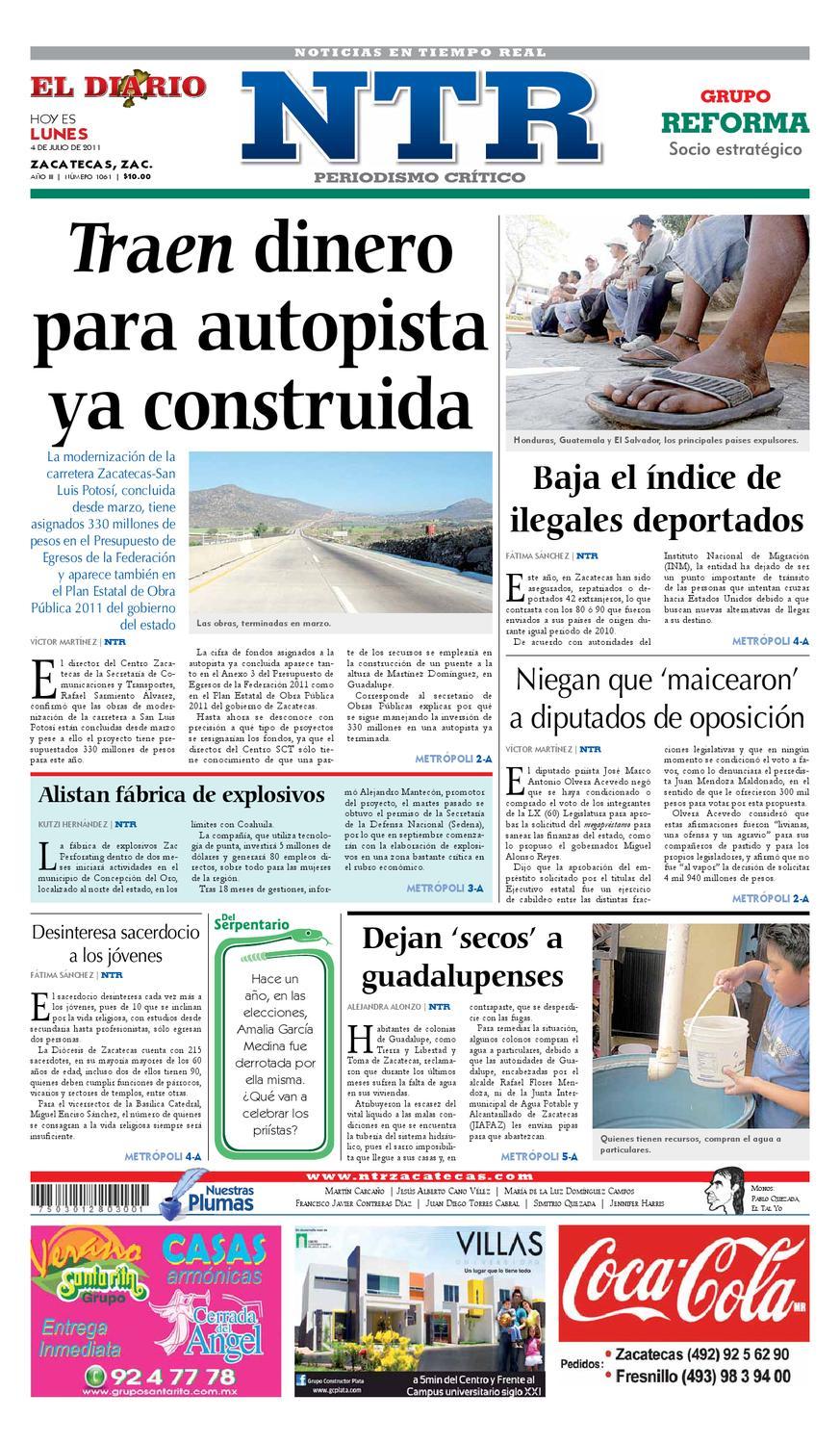 b2a51f1620e5a El Diario NTR by NTR Medios de Comunicación - issuu