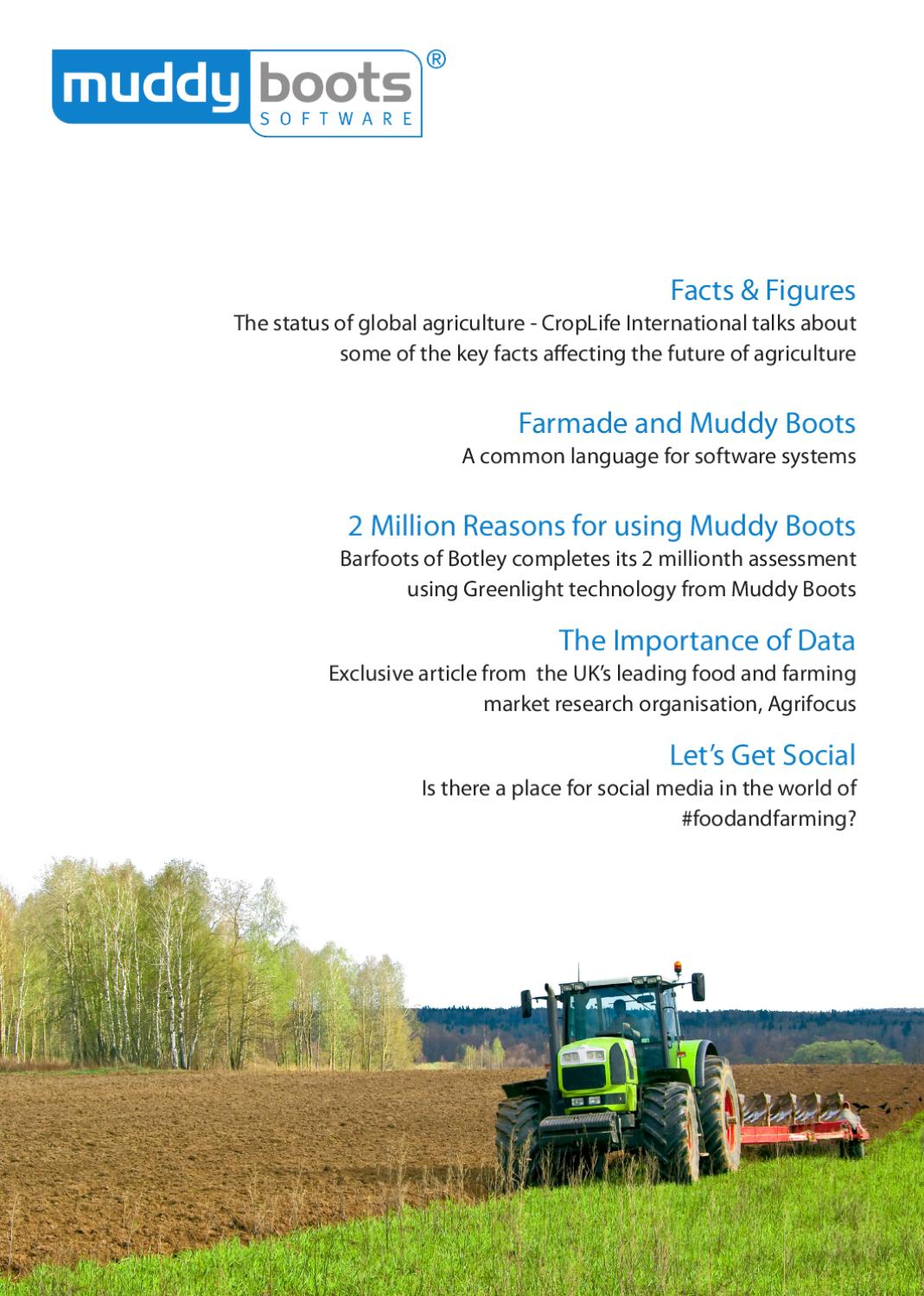 Muddy Boots Agricultural Magazine by Muddy Boots Software