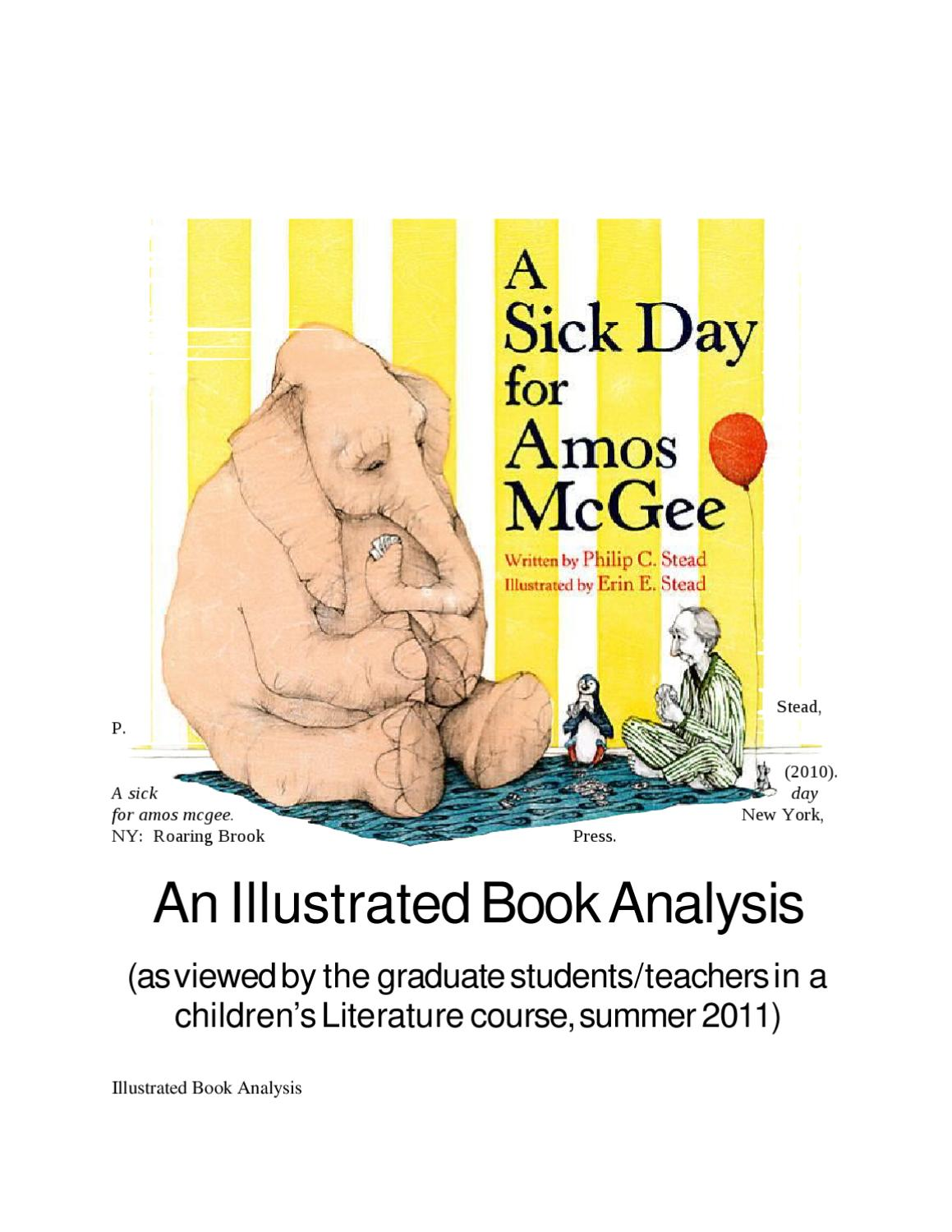 a sick day for amos mcgee pdf