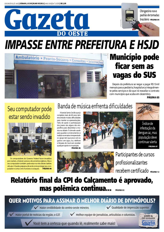 Gazeta do Oeste - Edição 1606 by Portal G37 - issuu eec28038bb