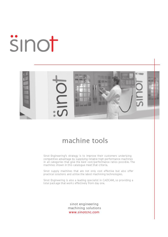 Sinot Machine Catalogue NZ/Aus by Karl Rusher - issuu