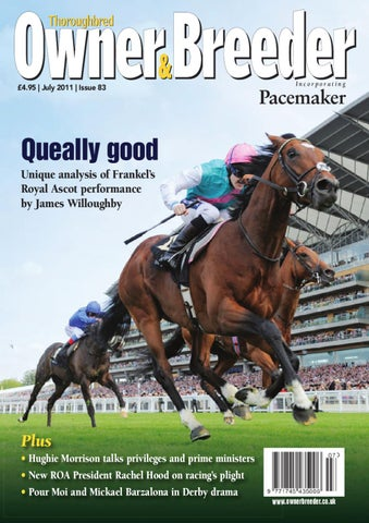 Thoroughbred Owner & Breeder July 2011 by Racehorse Owners