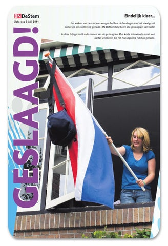 Wonderbaarlijk BNDeStem geslaagden 2 juli 2011 by Dennis Willems - issuu RI-49