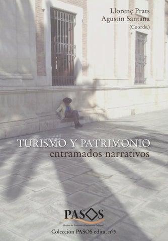 Turismo Y Patrimonio Entramados Narrativos By Pasos Revista De