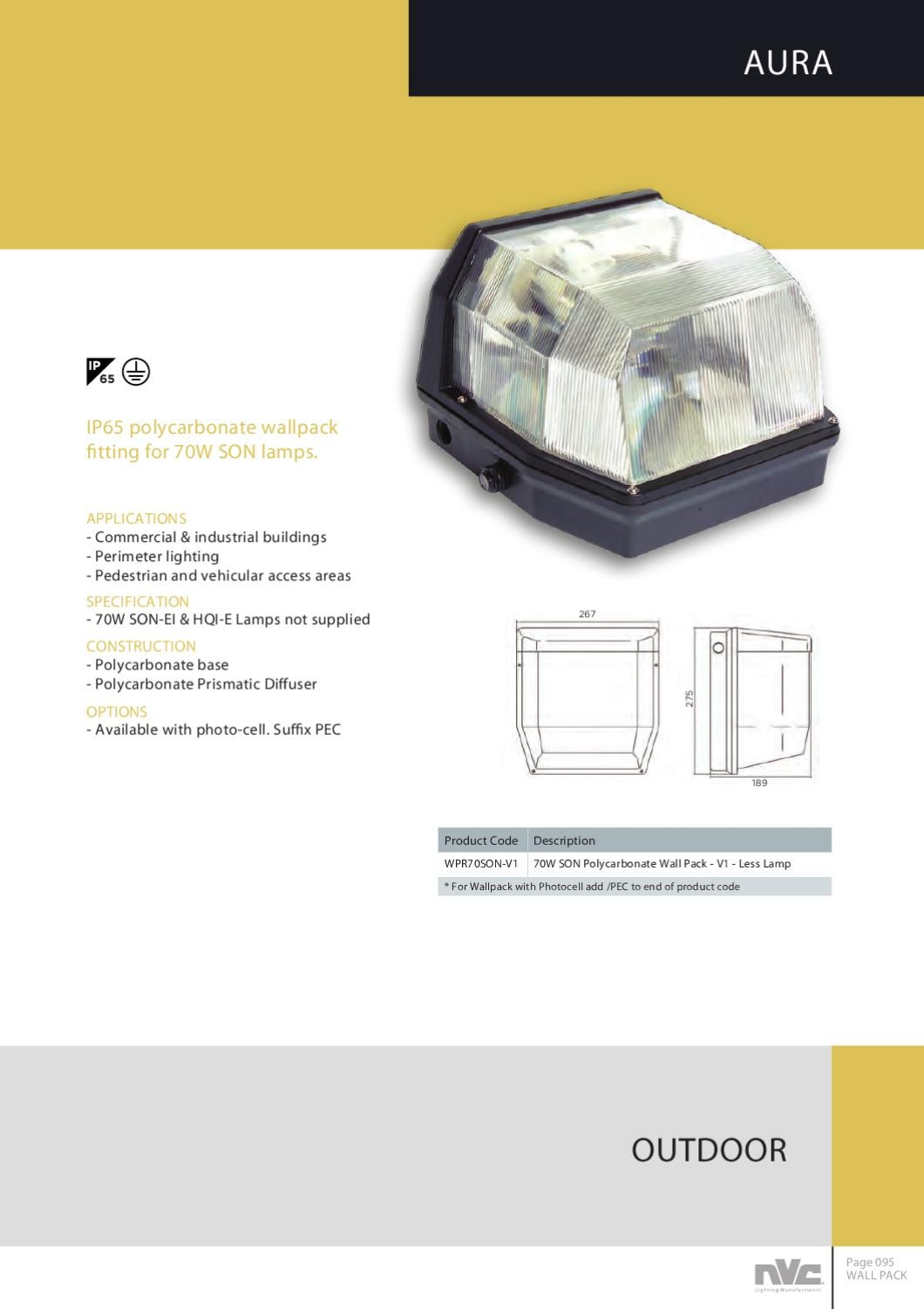 NVC OEM CATALOGUE by NVC Lighting Ltd - issuu