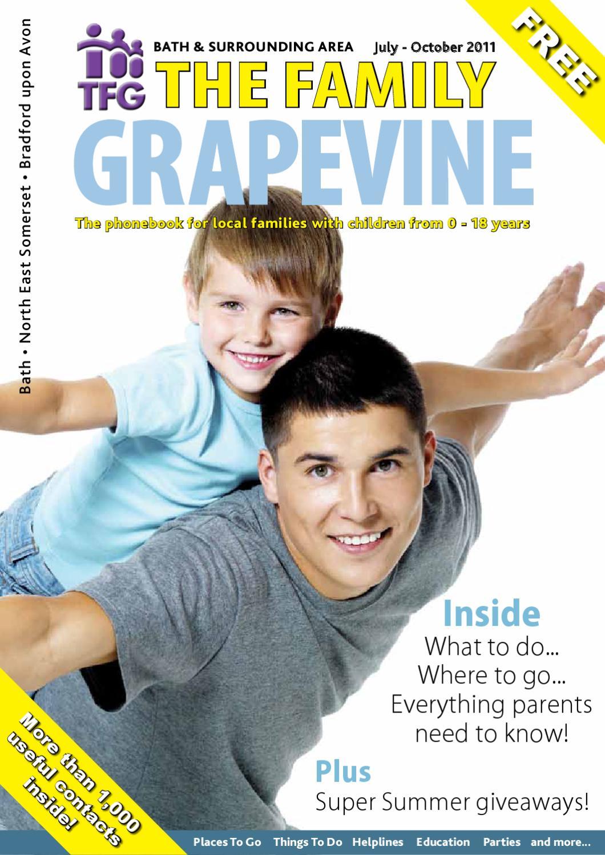 TFG Bath Family Grapevine, July 2011 by Nikki Vine - issuu