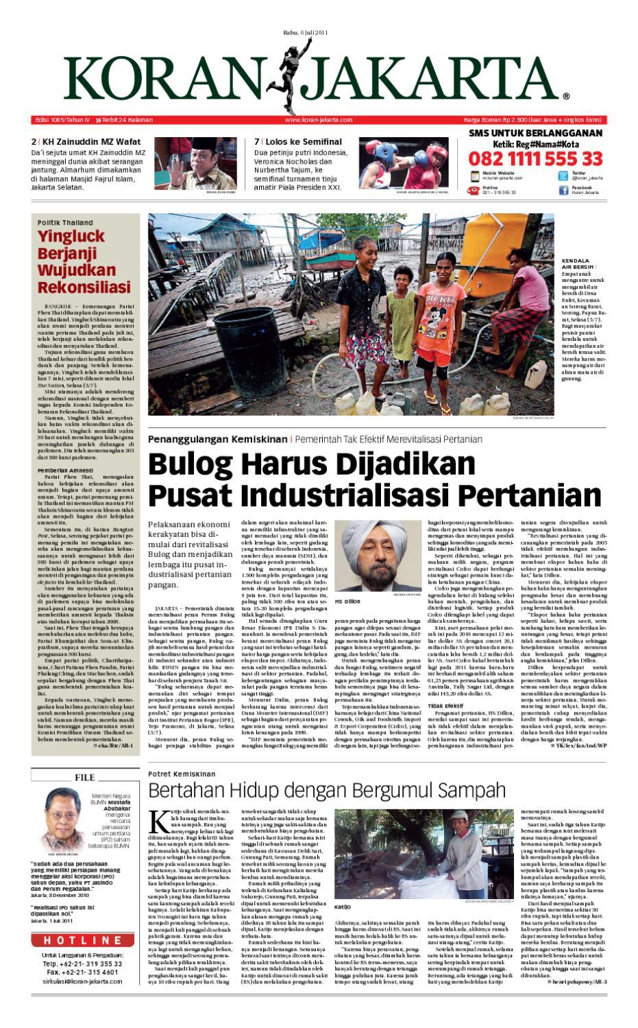 Edisi 1085 06 Juli 2011pdf By Pt Berita Nusantara Issuu Kopi Bubuk Ridha Utama Smg
