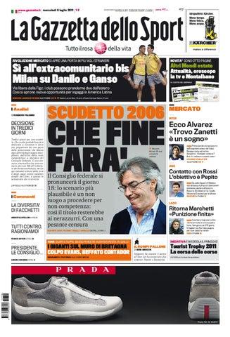 Gazzetta dello sport - 6 luglio 2011 by lòxzck fdsfs - issuu 9d6b0d66f28