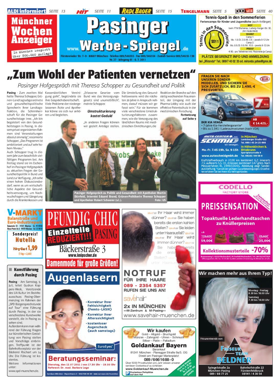 KW 27-2011 by Wochenanzeiger Medien GmbH - issuu