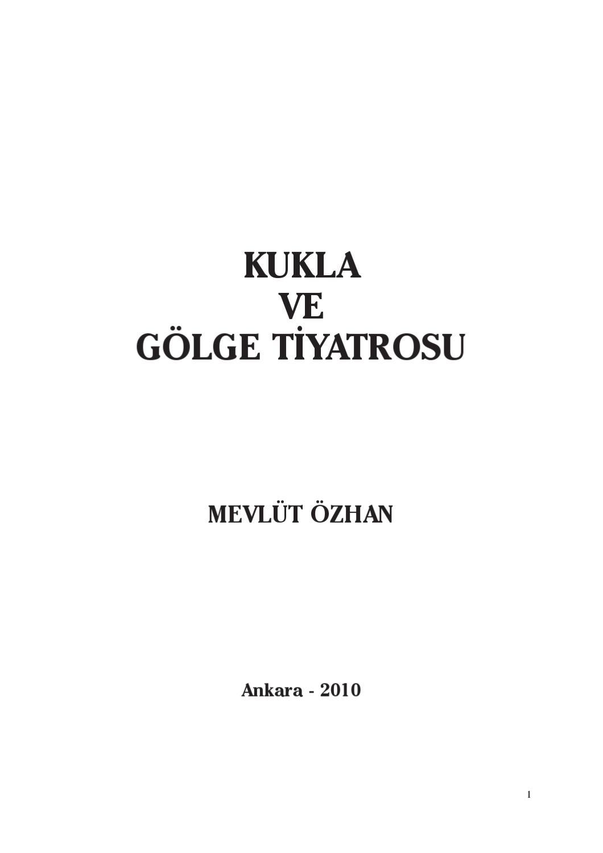 Kukla Ve Golge Tiyatrosu By Bursa Buyuksehir Belediyesi Issuu