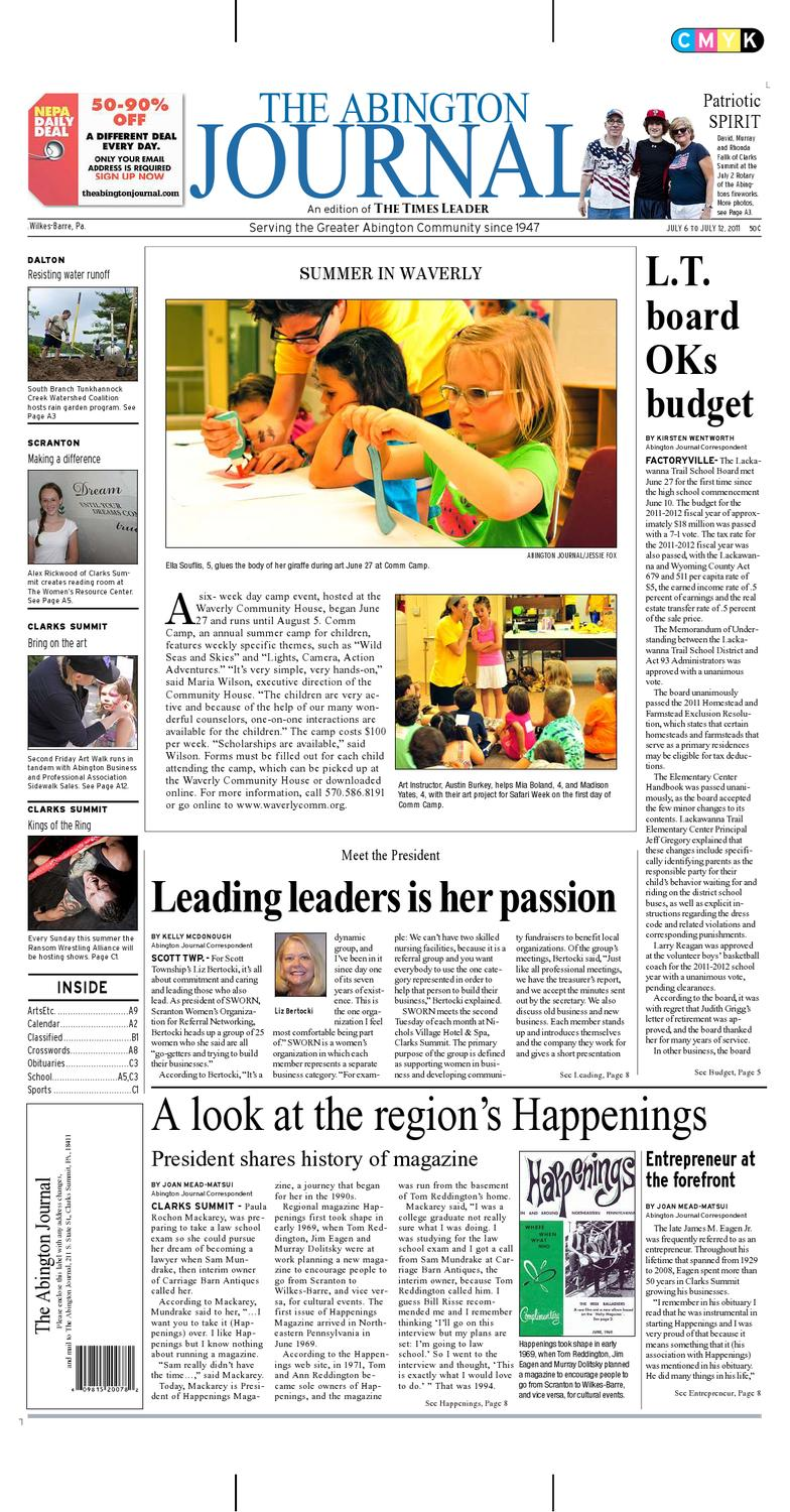 The Abington Journal 07 06 2011 By The Wilkes Barre Publishing