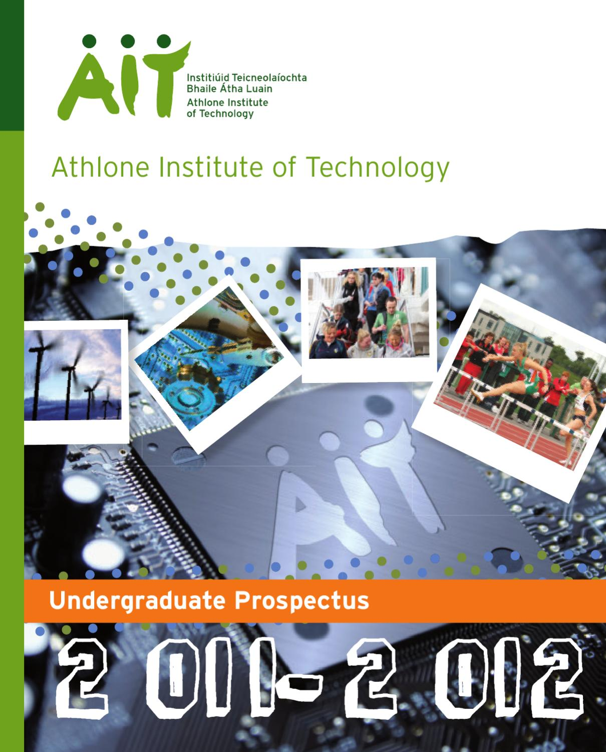 Athlone Institute of Technology: Rankings, Fees & Courses