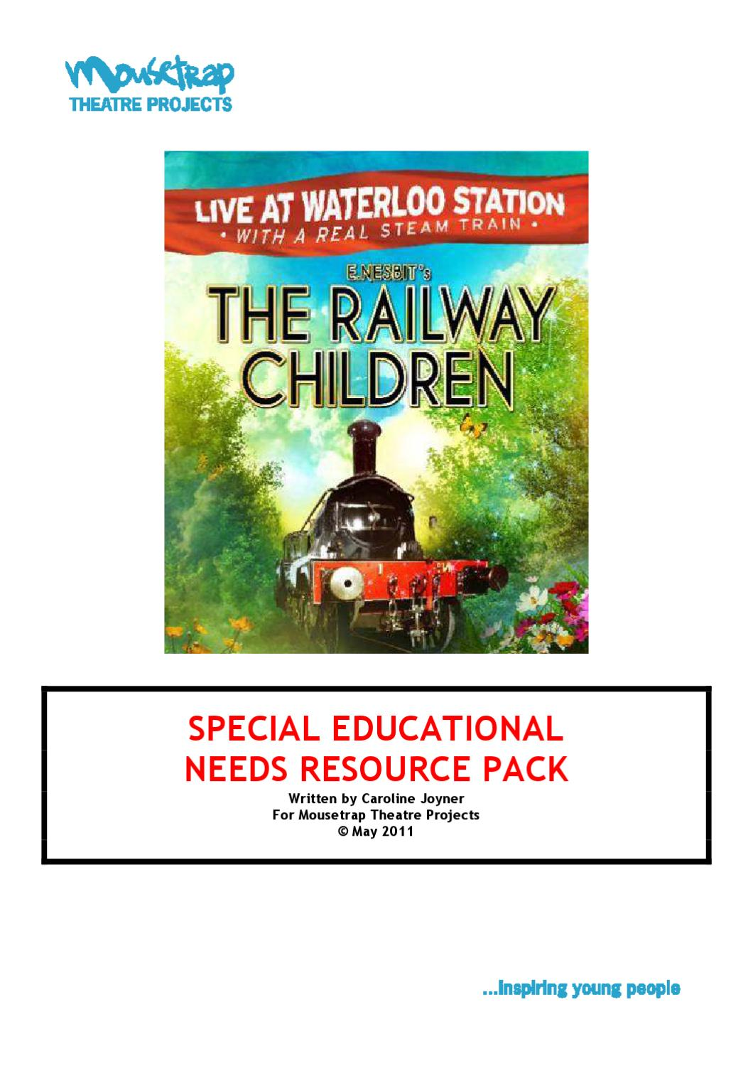 The Railway Children resource pack by Mousetrap Theatre Projects ...