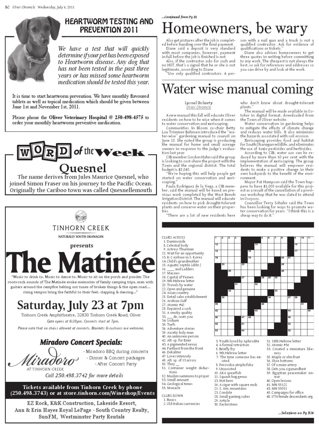 Online Edition - July 6th, ...