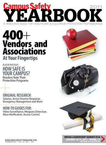 aaac357463 Campus Safety Magazine Year Book 2011 by Bobit Business Media - issuu