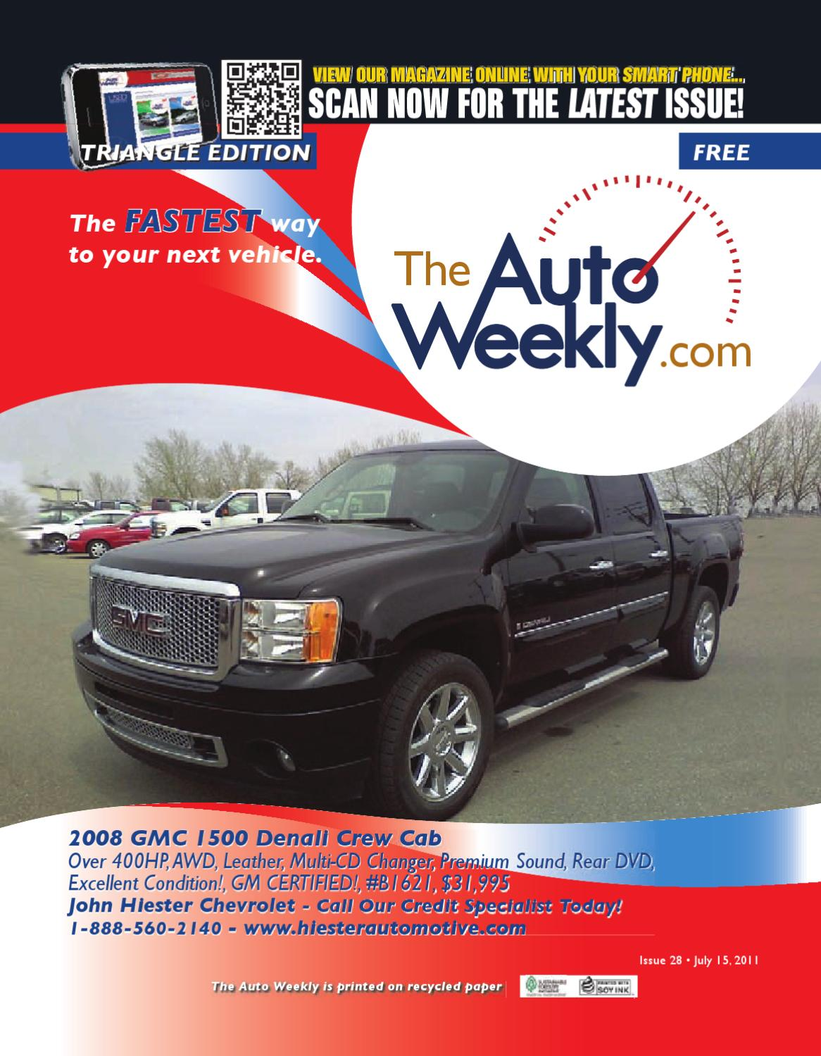 Issue 1128a Triangle Edition The Auto Weekly by The Auto Weekly - issuu