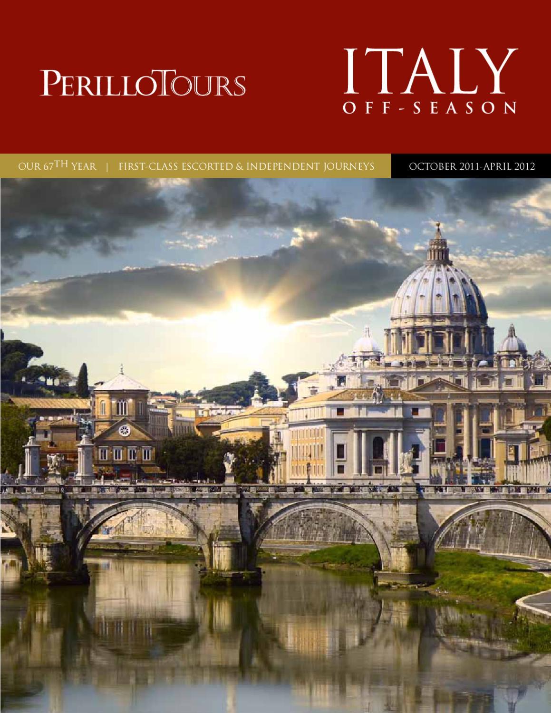 Perillo Tours Off Season OCTOBER 20 APRIL 20 by Perillo ...