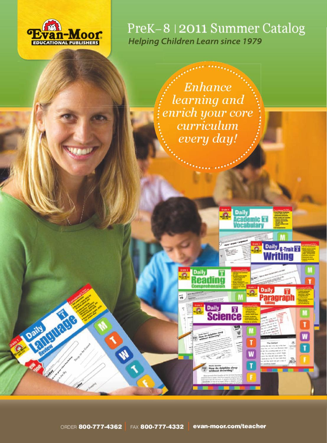 August 2011 Catalog by Evan-Moor Educational Publishers - issuu